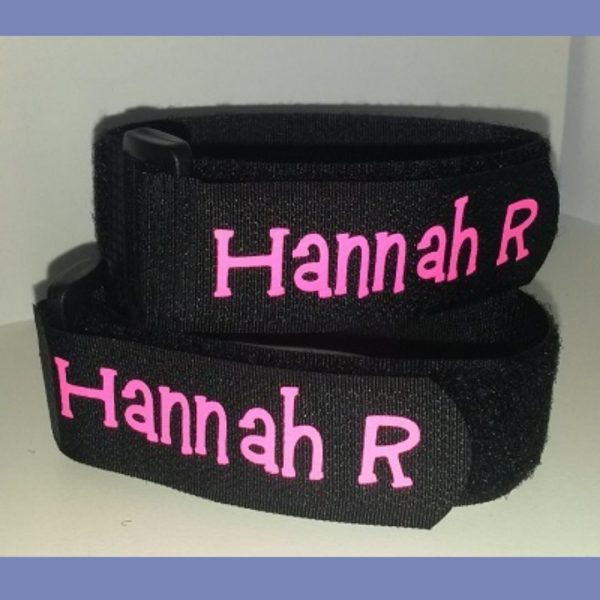 personalised ski ties