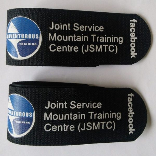 joint service mountain training centre ski straps