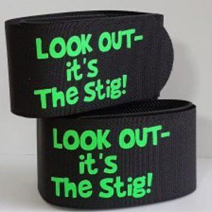 personalised ski straps