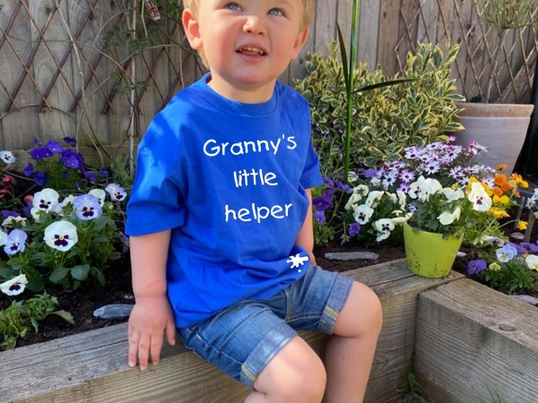 granny's little helper t-shirt