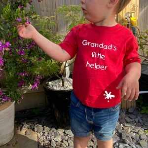 Grandad's Little Helper t-shirt