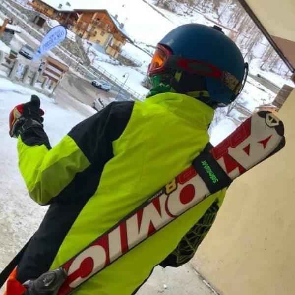 personalised ski carrier
