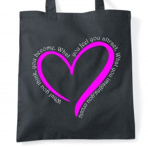 imagine and create tote bag
