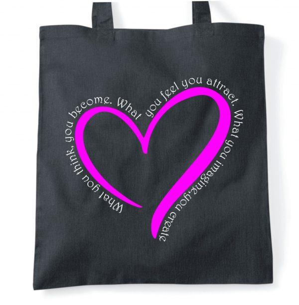 imagine and create tote bag