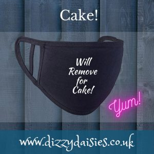 will remove for cake face mask