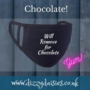 will remove for chocolate face mask