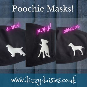 dog design face masks