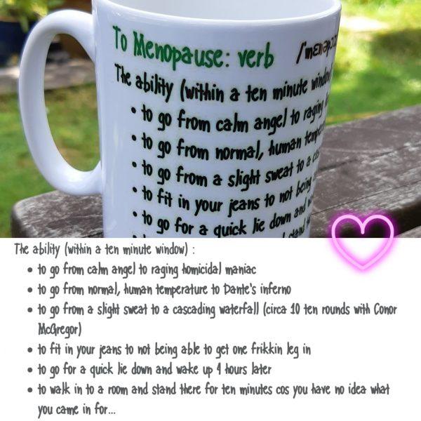 menopause mug