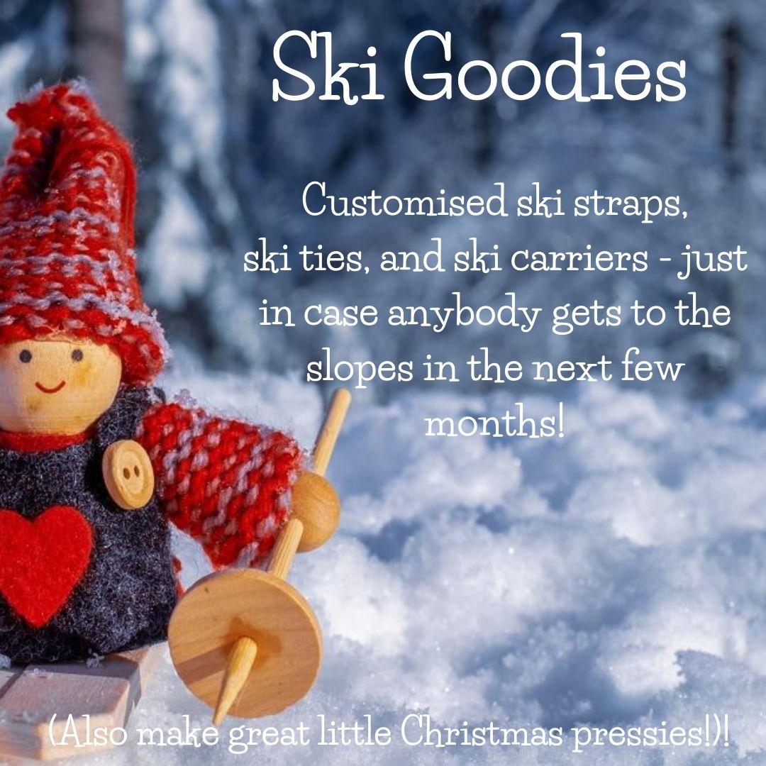 Ski goodies logo dizzy daisies