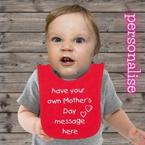 mothers day baby bib