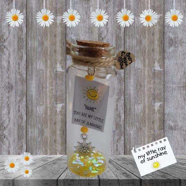 little ray of sunshine bottle
