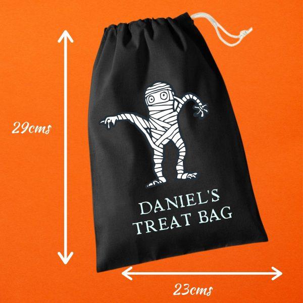 halloween trick bag measurements