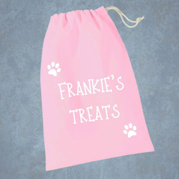 treat bag pink