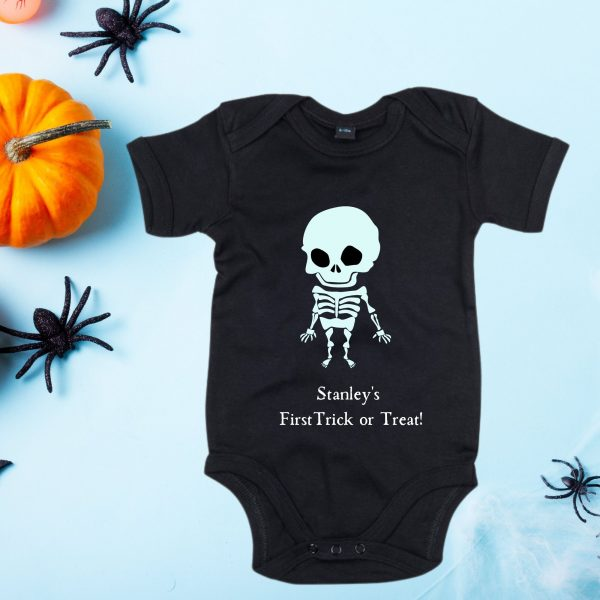 halloween onesie skeleton